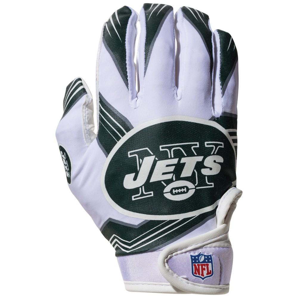 New York Jets Kids' Receiver Gloves - M
