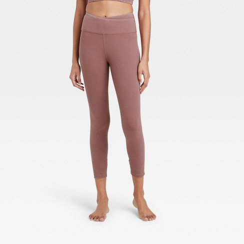Women's High-Rise Criss Cross Waistband 7/8 Leggings - JoyLab™ - image 1 of 2