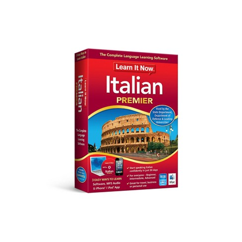 Avanquest Learn it Now Italian - Mac- Email Delivery - image 1 of 1