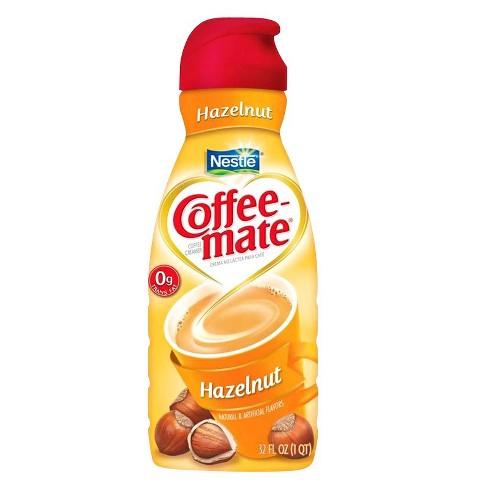Coffee-Mate Hazelnut Coffee Creamer - 32oz : Target