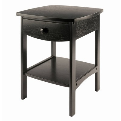 Claire Nightstand - Black - Winsome