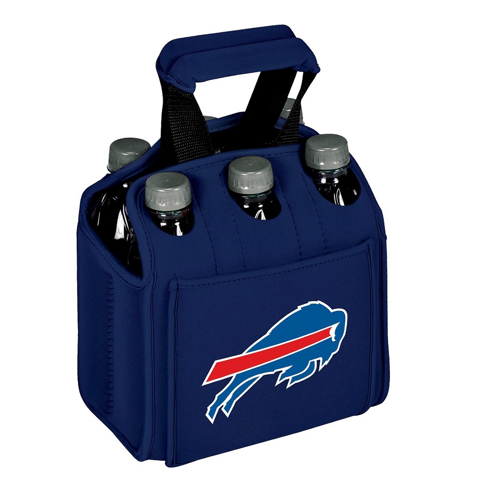 Buffalo Bills - Six Pack Beverage Carrier by Picnic Time (Navy)