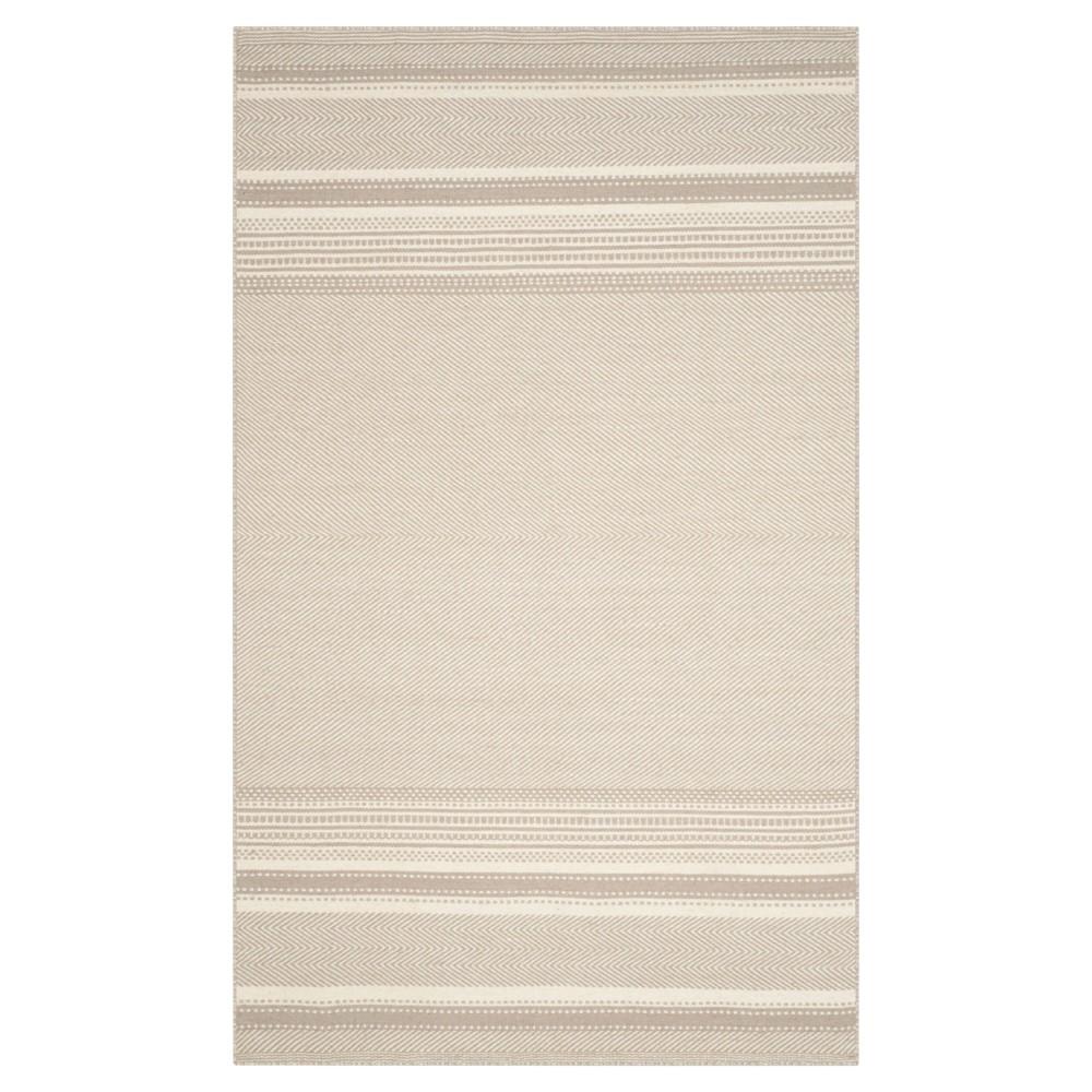 Rhea Area Rug - Gray / Ivory (5' X 8') - Safavieh