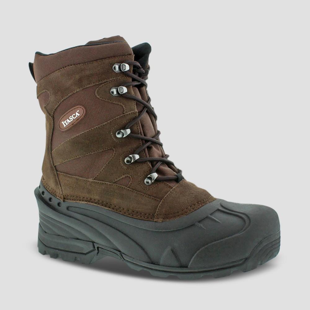 Winter Boots Itasca Ketchikan Brown 12 Mens