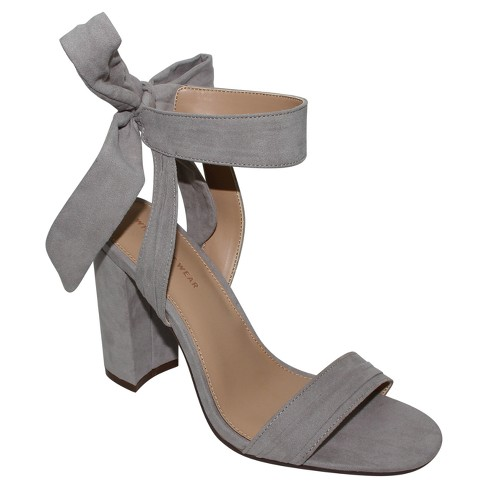 ca7da74ea818 Women s Michaela Block Heel Ankle Strap Sandals - Who What Wear™ Gray 7    Target