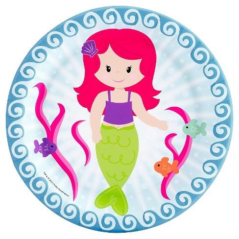 8ct Mermaids Dessert Plate - image 1 of 1