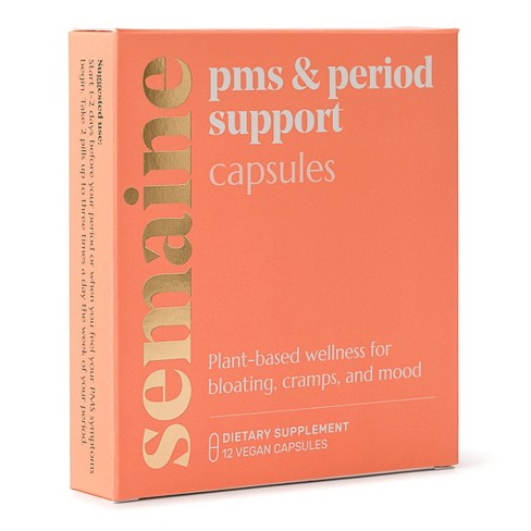 Semaine Health Plant-Based Menstrual Relief Pill - 12ct - image 1 of 4