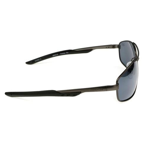 38c99e6f45 Men s Ironman Polarized Aviator Sport Sunglasses - Gray   Target