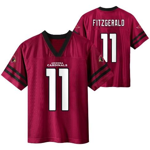 NFL Arizona Cardinals Boys' Larry Fitzgerald Short Sleeve Jersey - XS