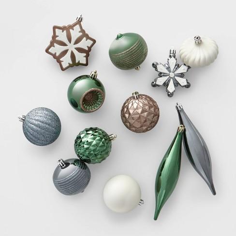 40ct Christmas Ornament Set - Wondershop™ - image 1 of 4