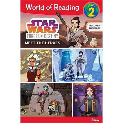 Meet the Heroes -  (World of Reading) by Ella Patrick (Paperback) - image 1 of 1