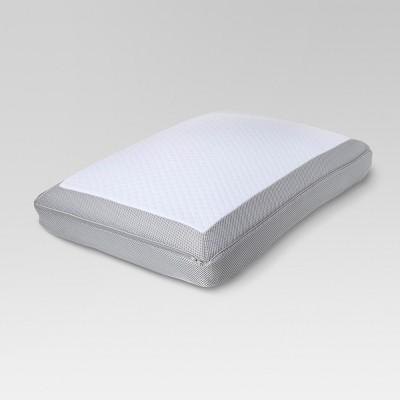 Temperature Balancing Memory Foam Bed Pillow (King)White - Threshold™