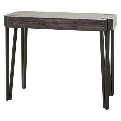 Colville Console Table - Black Sonoma Oak - Christopher Knight Home