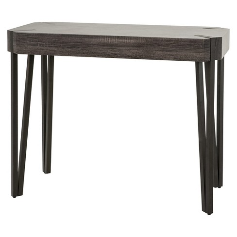 Colville Console Table - Black Sonoma Oak - Christopher Knight Home - image 1 of 4