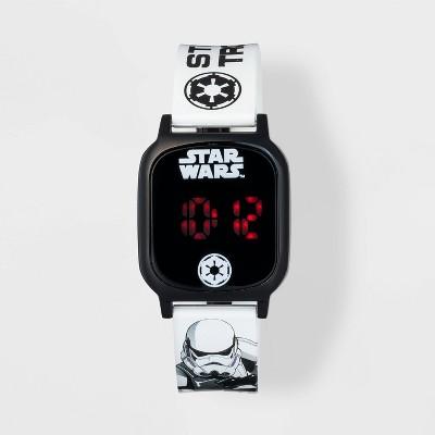 Boys' Star Wars Watch - Black/White