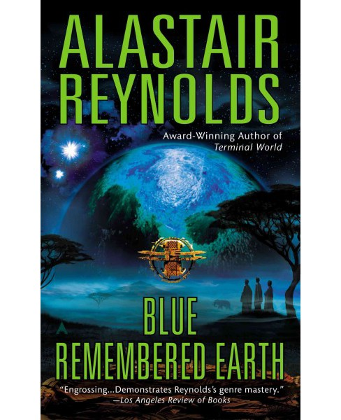 Blue Remembered Earth (Reprint) (Paperback) (Alastair Reynolds) - image 1 of 1