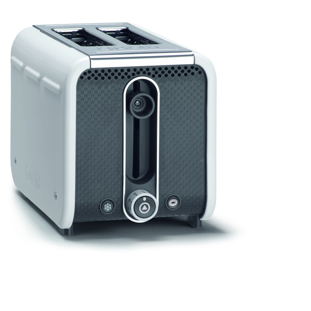 Image of Studio 2 Slice White Toaster - White 26432, White/Gray