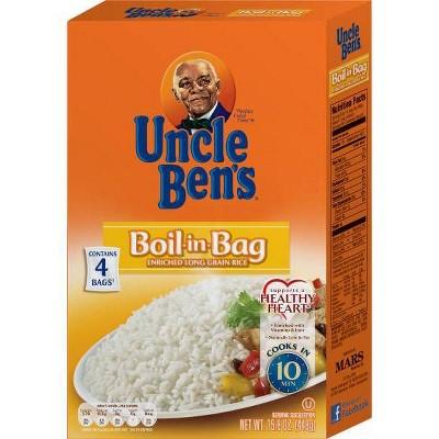 Rice: Uncle Ben's Boil-in-Bag