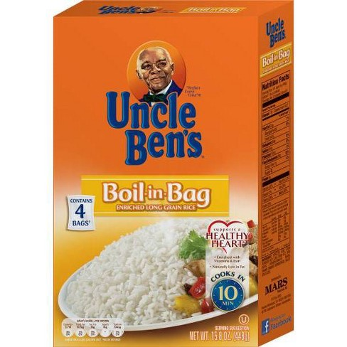 Uncle Ben S Boil In Bag White Rice 15