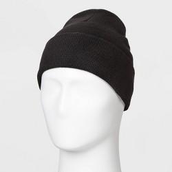 Men's Repreve Knit Beanie - Goodfellow & Co™ Black