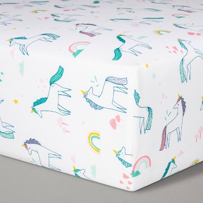 Fitted Crib Sheet Unicorns - Cloud Island™