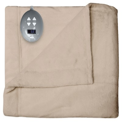 Velvet Plush Warming Blanket (King)Linen - Soft Heat®