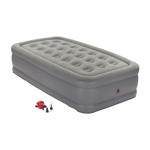 Coleman® GuestRest Double High Airbed with External Pump Twin - Red/Gray - image 1 of 8