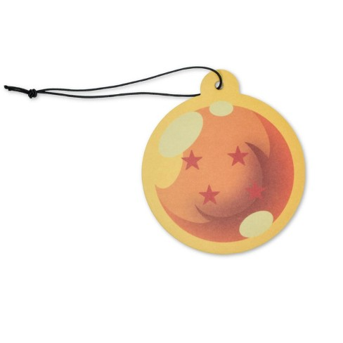 Just Funky Dragon Ball Z Four-Star Dragon Ball Air Freshener | Orange Scent - image 1 of 4