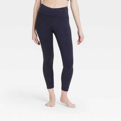 Women's High-Rise Criss Cross Waistband 7/8 Leggings - JoyLab™