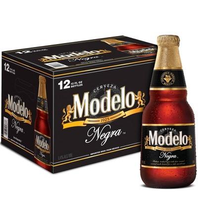 Modelo Negra Beer - 12pk/12 fl oz Bottles