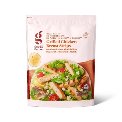 Grilled Chicken Breast Strips - Frozen - 20oz - Good & Gather™