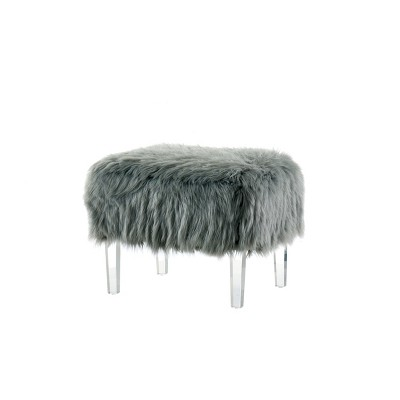 Ottomans Dark Gray - HOMES: Inside + Out