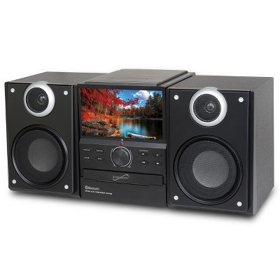 Supersonic Hi-Fi Audio Micro System with Bluetooth & DVD Player