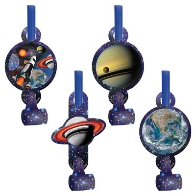 8ct Space Blast Party Blowers