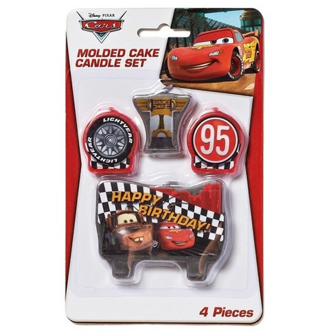 4ct Cars Birthday Candles - image 1 of 2