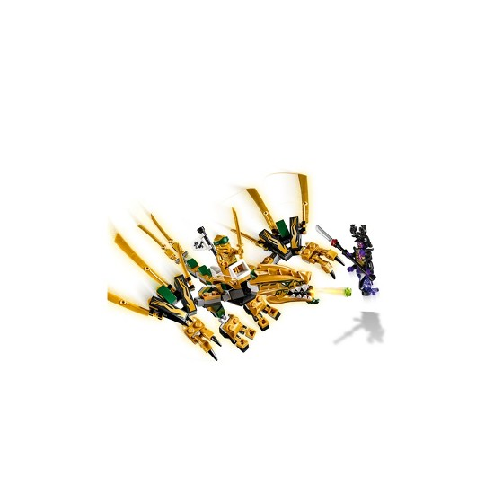 LEGO Ninjago: Masters of Spinjitzu The Golden Dragon 70666 image number null