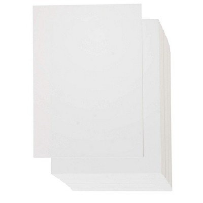 """200 Pack White 5"""" x 7"""" Cardstock, Unruled Heavyweight Index Card Flash Card, Glossy Finish"""