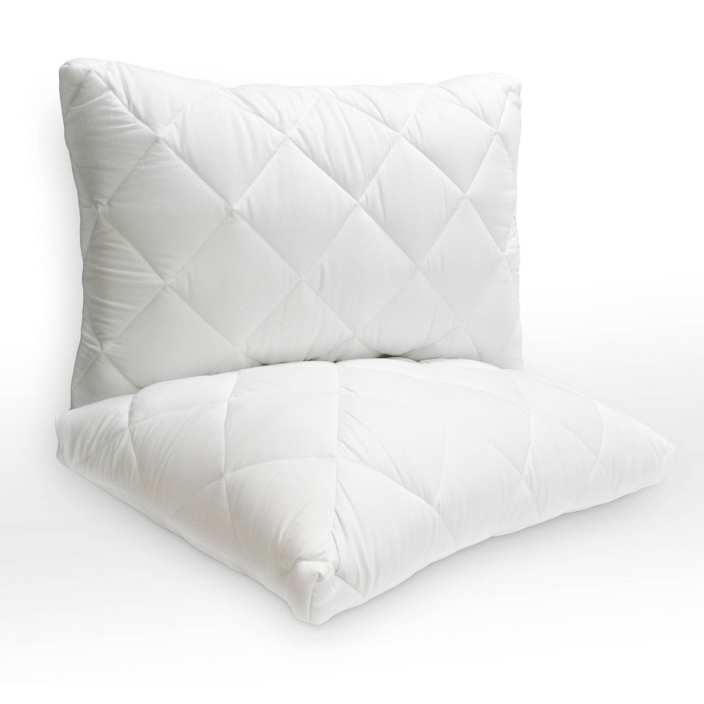 Image of Standard 2pk Probiotic Quilted Bed Pillow - Pure Sleep