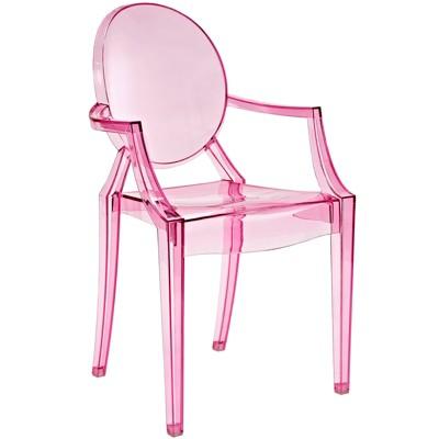 Casper Dining Armchair Pink - Modway