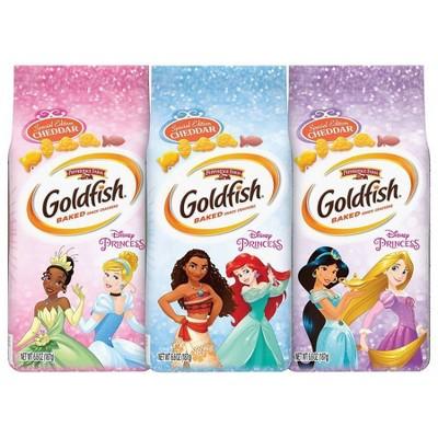 Goldfish Crackers Featuring Disney Princess - 6.6oz