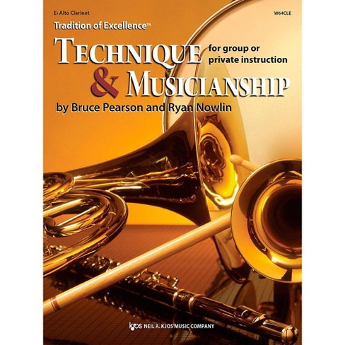 KJOS Tradition of Excellence: Technique & Musicianship Alto Clarinet - image 1 of 1