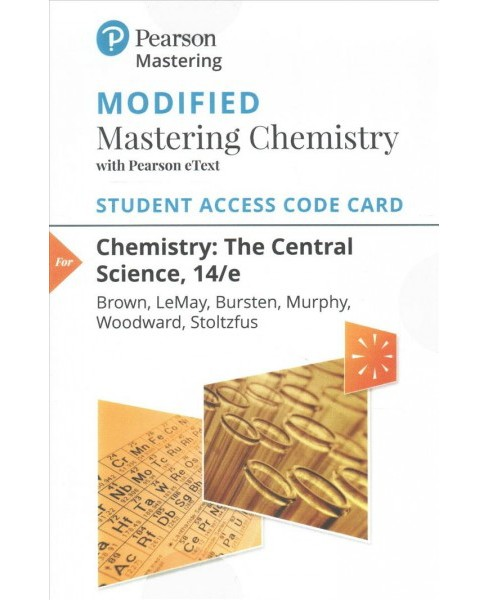 Chemistry Modified Mastering Chemistry With Pearson eText Access Code : The Central Science (Hardcover) - image 1 of 1