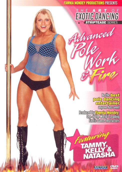 Striptease series advanced pole danci (DVD) - image 1 of 1