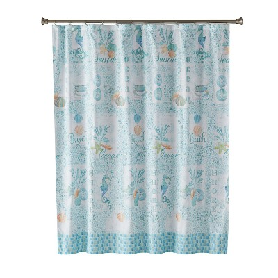 South Seas Shower Curtain Teal - Saturday Knight Ltd.