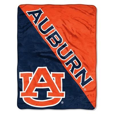 NCAA Auburn Tigers Micro Fleece Throw Blanket