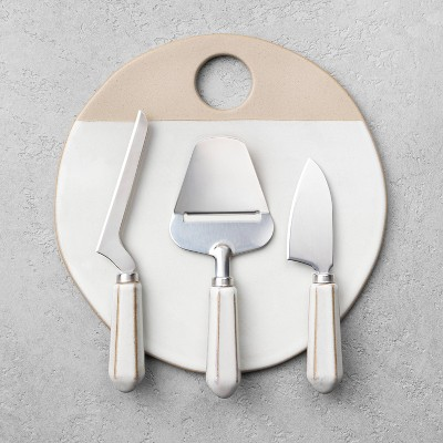 Board + Cheese Knife Set - Hearth & Hand™ with Magnolia