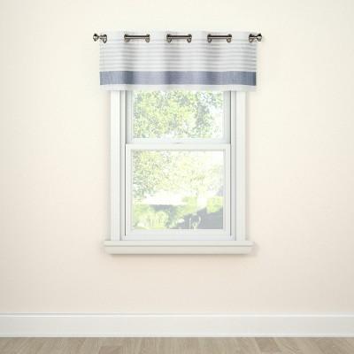 Window Valance Stripe Blue - Project 62™