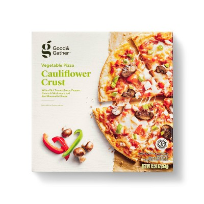 Gluten Free Cauliflower Crust Veggie Frozen Pizza - Good & Gather™