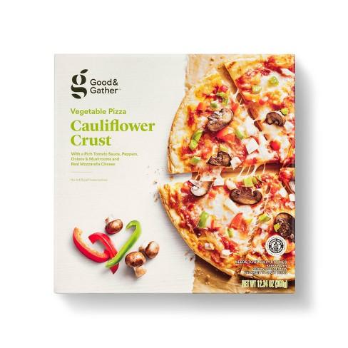 Gluten Free Cauliflower Crust Veggie Frozen Pizza - Good & Gather™ - image 1 of 2