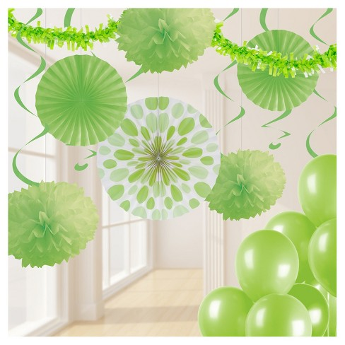 Fresh Lime Green Party Decorations Kit - image 1 of 1
